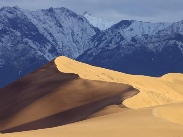 Это пустыня в Марокко?