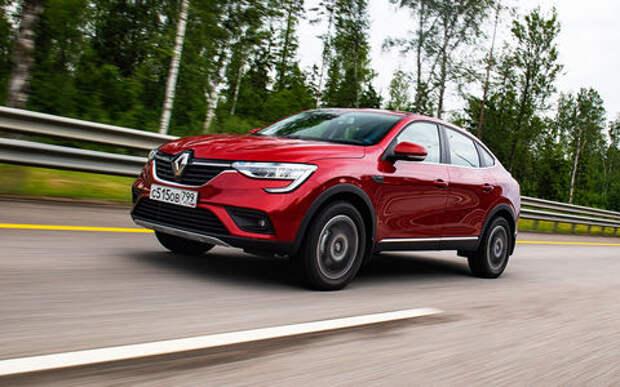 Renault Arkana появился в топ-25 моделей