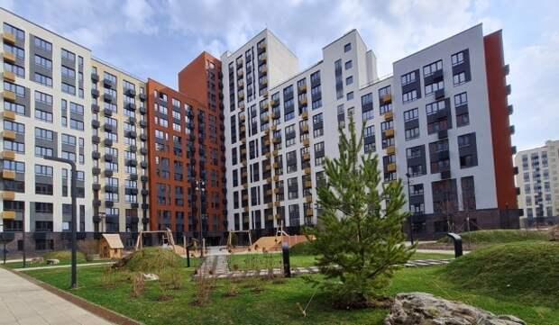 Завершено строительство дома на 609 квартир в ЖК «Переделкино Ближнее»