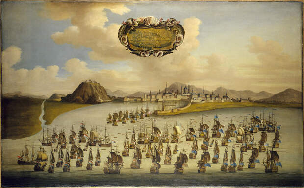Флот Англии и её союзников у Барселоны - Великие крейсерские войны: драка за испанское наследство   Военно-исторический портал Warspot.ru