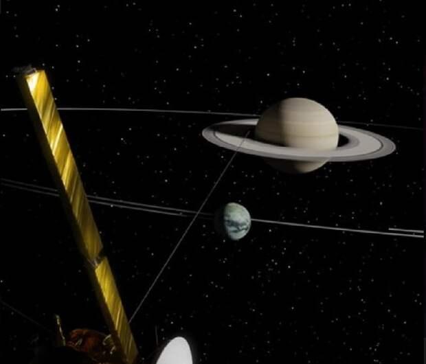 Ученые обнаружили, что Титан уходит от Сатурна в 100 раз быстрее, чем считалось ранее