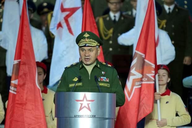 Шойгу рассказал, как стал Героем России