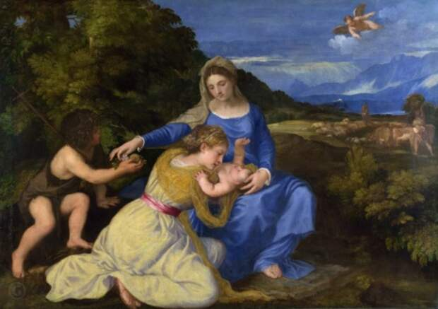 художник Тициан Вечеллио (Tiziano Vecellio) картины – 23