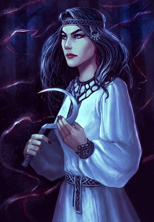Мара: славянская Богиня смерти, хозяйка ночи и зимы