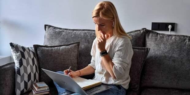 Наталья Сергунина рассказала о новом онлайн-сервисе для предпринимателей Москвы/Фото: Ю. Иванко mos.ru