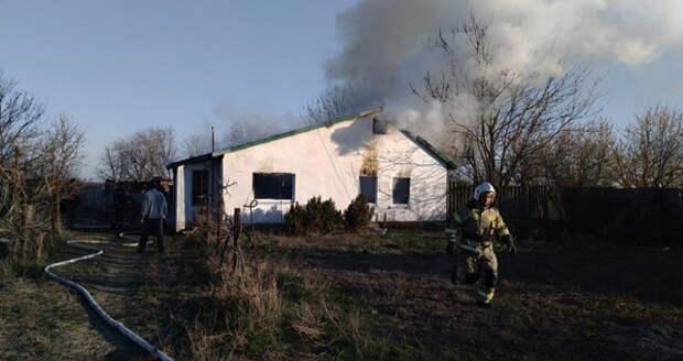 Труп обнаружили среди остатков сгоревшего дома в Крыму