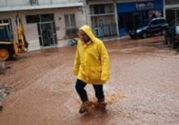 Афины затопило после шторма