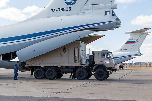 """""""Самолет Путина"""" везет в США медицинское оборудование"""