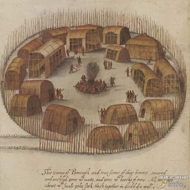 В США нашли следы таинственно пропавшей колонии Роанок
