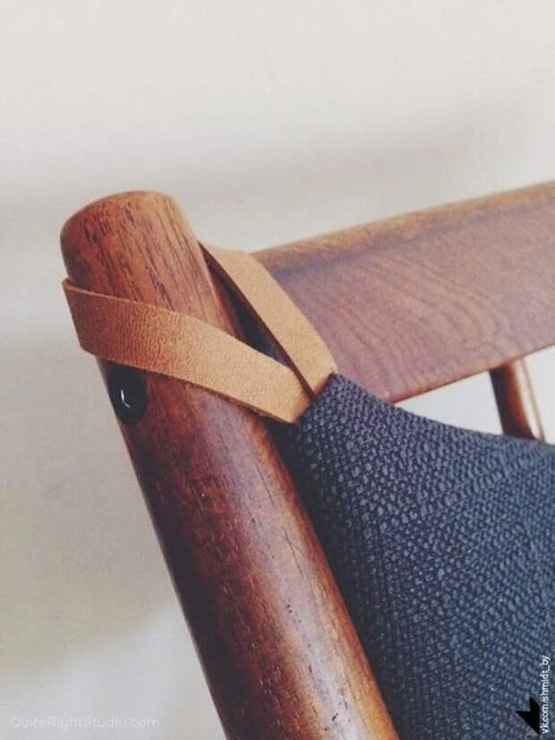 Мебельные детали из кожи