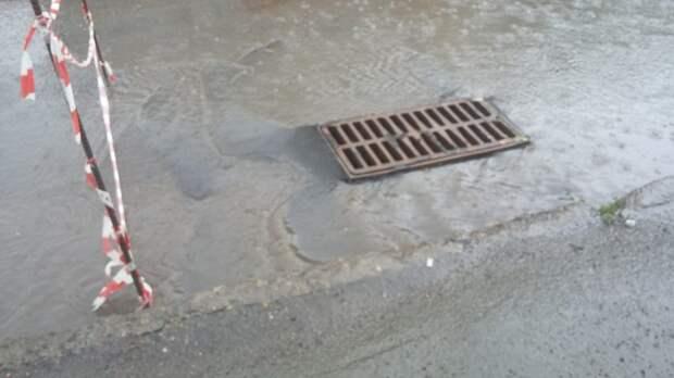 Систему ливневой канализации проверили на участке Алтуфьевского шоссе