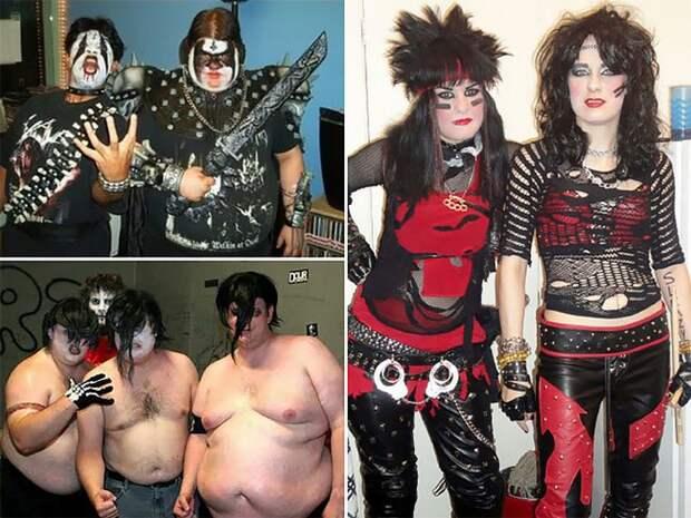 Полный трэш: Как выглядели рок-музыканты в 1980-х