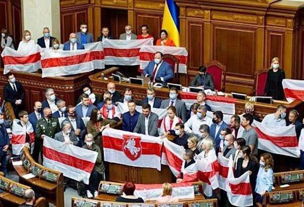 Протесты в Белоруссии: украинские радикалы на службе белорусской оппозиции