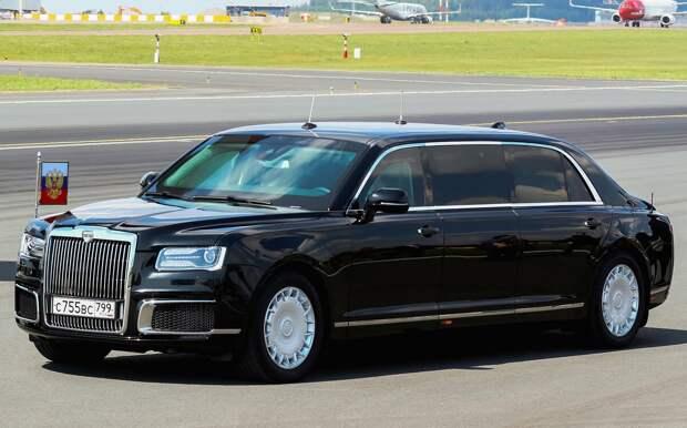 Автомобили президентов и самых влиятельных людей мира.