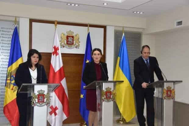 Кишинёв, Киев и Тбилиси планируют «вернуть» Приднестровье, Донбасс, Абхазию и Южную Осетию