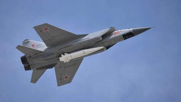 Российские истребители МиГ-31К впервые переброшены в Сирию для проведения учений