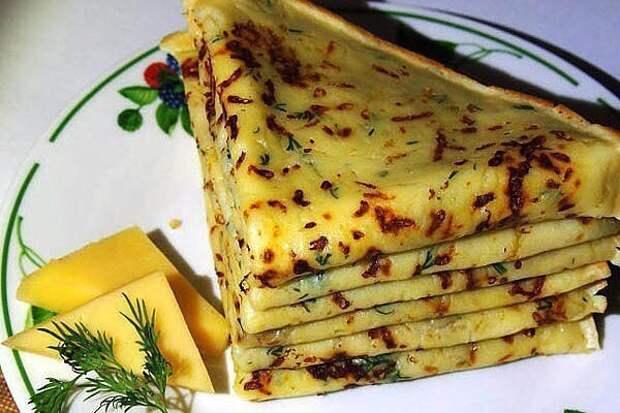 Сырные блины –