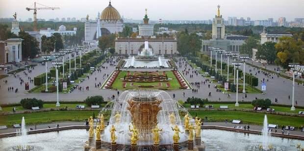 Сергунина рассказала об онлайн-гиде по памятникам архитектуры ВДНХ. Фото: Е. Самарин mos.ru
