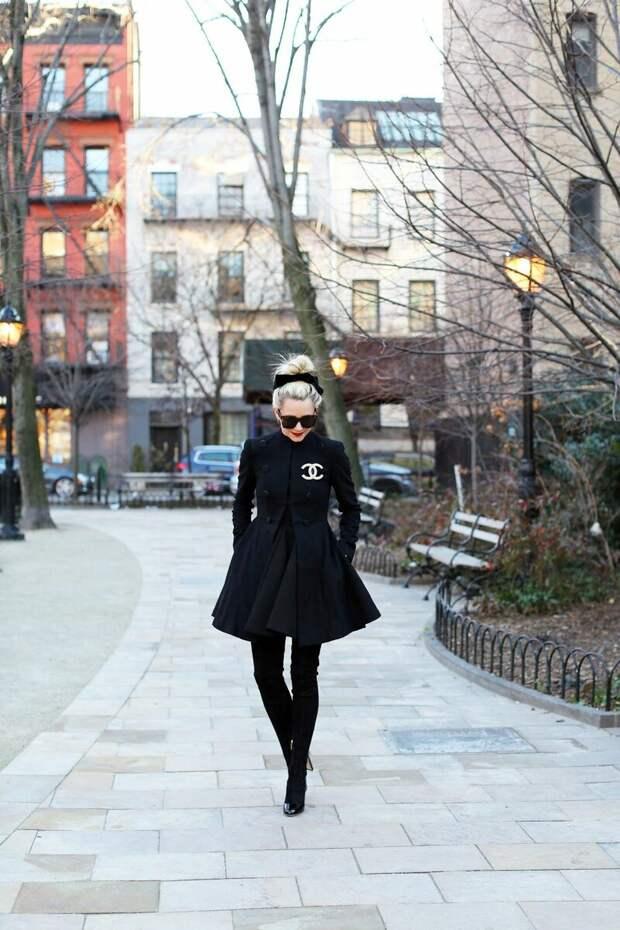 10 примеров с чем носить бесподобное пальто-годе