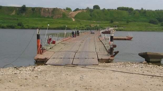 Деньги выделили вРостовской области напонтонную переправу через Северский Донец