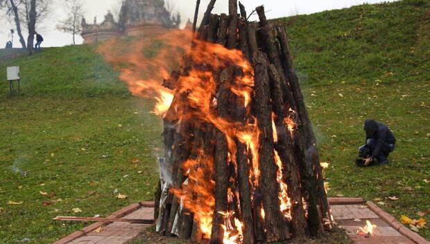Цветаевский костер зажгут 13 октября в поселке Дубровицы
