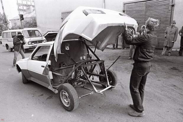 ЗАЗ-1102 ERF-Mobile получился на редкость удачным, но как и большинство Советских спортивных машин, так и не получила шанса проявить себя на международных соревнованиях. авто, автомобили, автоспорт, гоночный автомобиль, заз, ралли, раллийный автомобиль, таврия