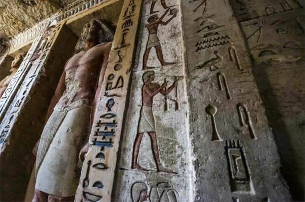 В Египте найдена нетронутая гробница, которой 4400 лет 4400 лет, Египт, в мире, гробница, наука, находка
