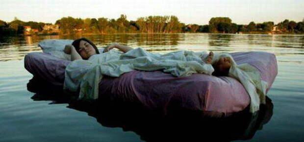Сон на пруду