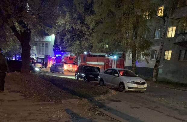 Вобщежитии РГУ вРязани произошло короткое замыкание