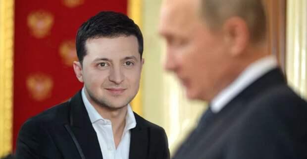 Война на Донбассе: Загнанный в угол Зеленский пошёл на поклон к Путину