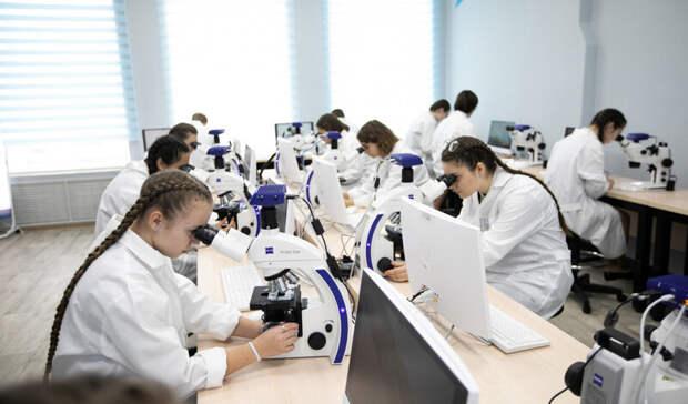 В Оренбурге заработали специальные площадки для юных ученых