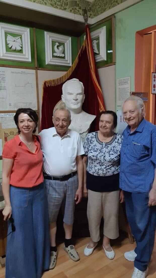 Музей колхоза «Россия» посетил Владимир Механик