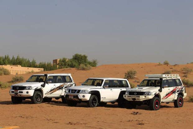 Nissan превратил Patrol в очень крутую «Газель»