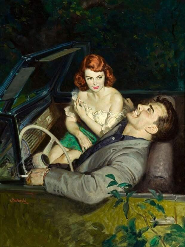 Волнующие иллюстрации от Rudolph Belarski
