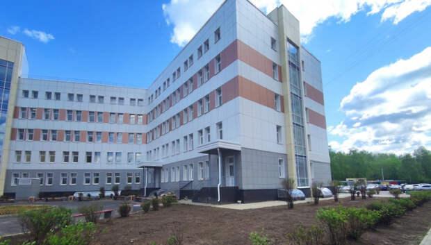Поликлинику на Ленинградской улице Подольска введут в эксплуатацию до конца мая