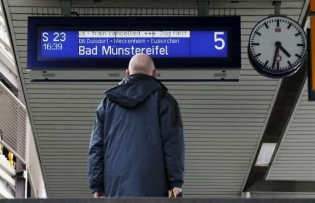 Аэропорты и вокзалы в Европе будут работать с перебоями