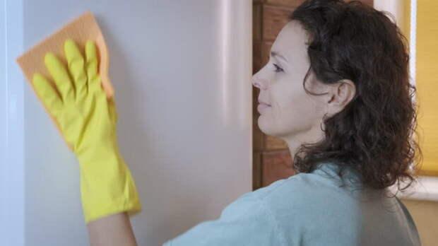С маслом легко оттереть липучки на двери холодильника. /Фото: ak7.picdn.net