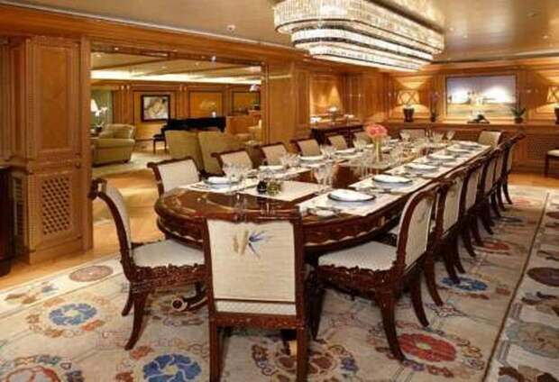 Супер-яхта Dilbar в Саутгемптоне – зрелище на $650 млн