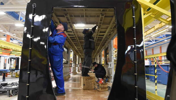 «Метровагонмаш» увеличил объемы производства в 2018 году на 40%