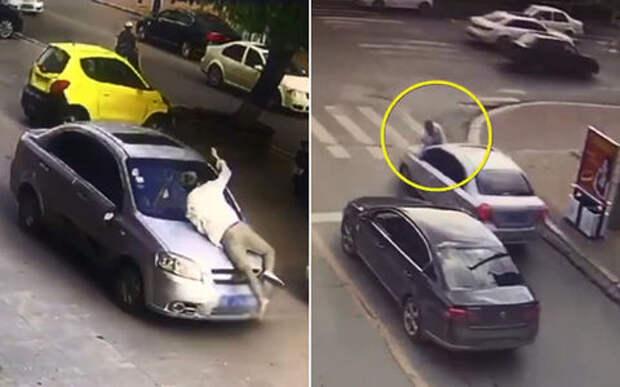 Грустная история: ревнивый муж, жена, любовник и избиение машины