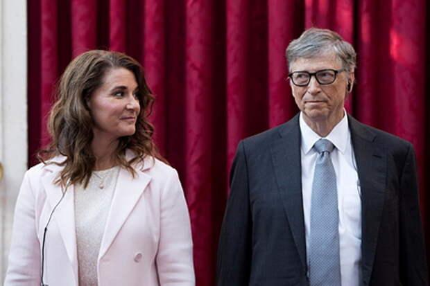 """Основатель """"Microsoft"""" Билл Гейтс развелся со своей женой Мелиндой"""