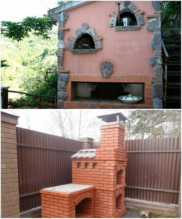 Русскую печь можно построить даже на дачном участке. | Фото: bestpechi.ru/ ogon.guru.
