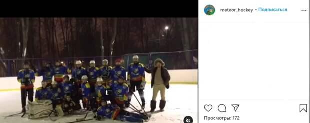 Хоккеисты Бескудниковского района готовятся к городскому  турниру