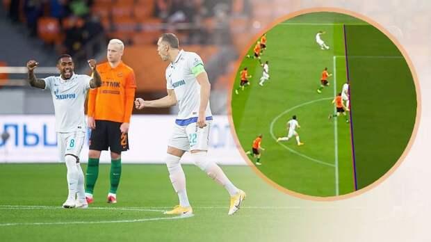 В РФС признали ошибочной рекомендацию VAR засчитать гол Дзюбы в матче «Урал» — «Зенит»: видео
