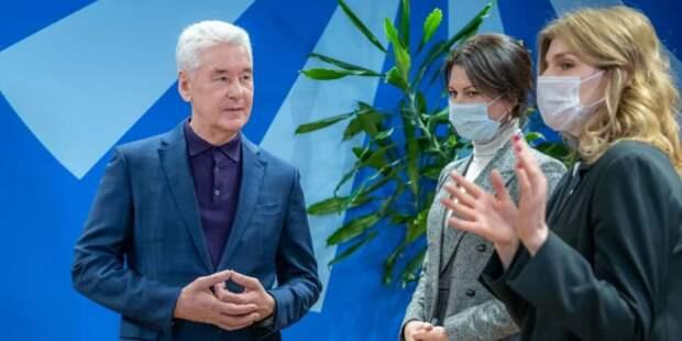 Собянин рассказал о развитии сети специализированных центров занятости. Фото: В. Новиков mos.ru