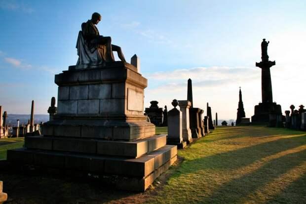 Некрополь в Глазго Rough Guide, голосование, канада, конкурс, куда поехать, опрос, самые красивые страны, шотландия