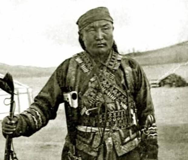 """Ликвидация """"монгольского бога"""", операция ВЧК 1923 год"""