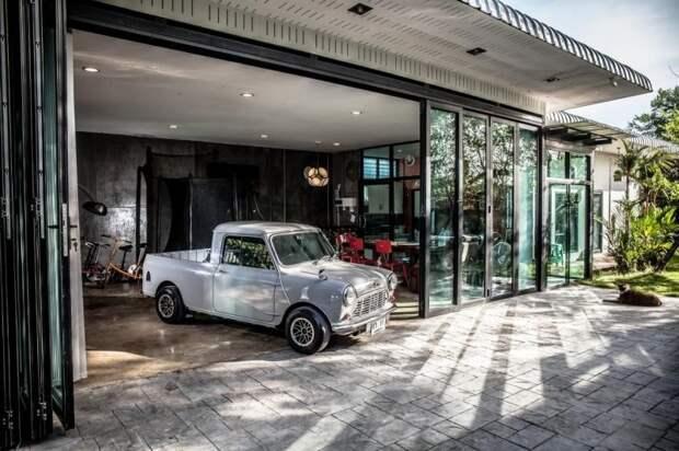 Morris Mini (Austin Mini) Pickup Morris Mini, mini, авто, автомобили, восстановление, олдтаймер, пикап, реставрация