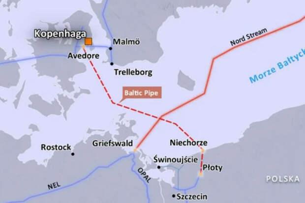 Северный поток-2 Baltic Pipe