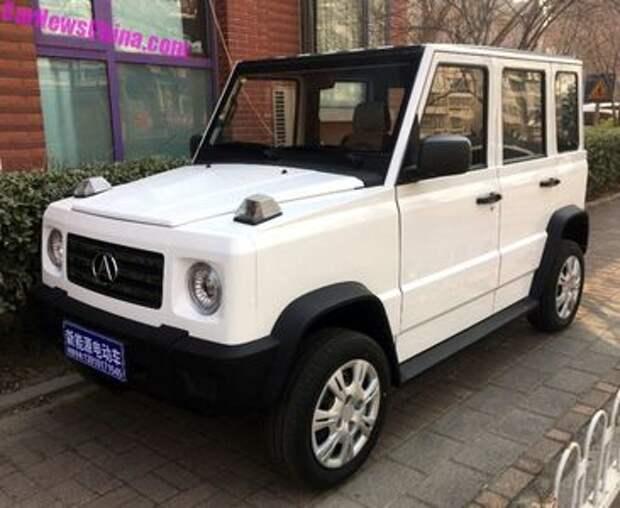 Китайцы показали бюджетный «Гелендваген» - Qifeng K7